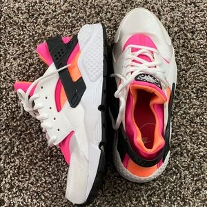 Nike women's Huarache shoes.